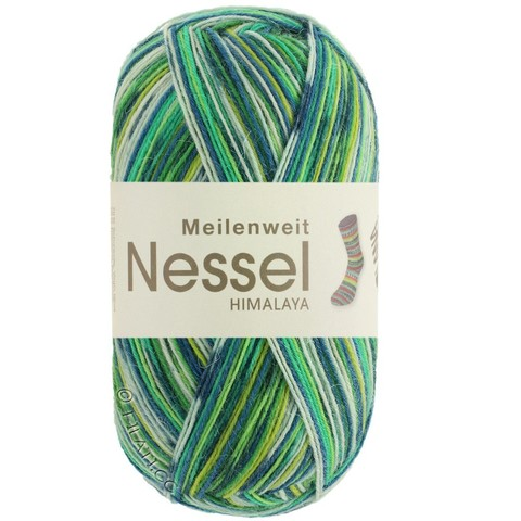 Lana Grossa Meilenweit Nessel Himalaya купить носочную пряжу