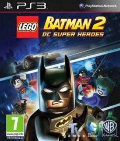 LEGO Batman 2: DC Super Heroes (PS3, русские субтитры)
