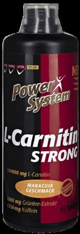 L-карнитин Стронг, БУТЫЛКА 1000 мл Пауэр Систем