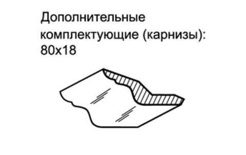Комплект декоративных элементов Ника-Люкс 60/50Р Ижмебель