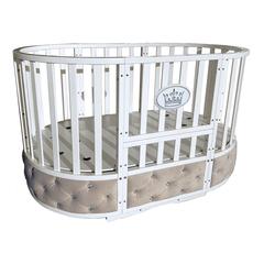 """Детская кроватка """"Sofia Elegance"""" 6 в 1 цвет белый"""