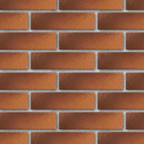 Paradyz - Taurus Brown, структурная, 24,5х6,5х8 - Клинкерная плитка для фасада и внутренней отделки
