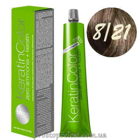 BBcos Keratin Color Hair Cream 100 ml - Стійка безаміачна фарба для волосся 100 мл