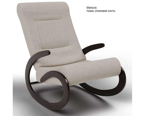 Кресло-качалка Мальта (Модель 1) ткань