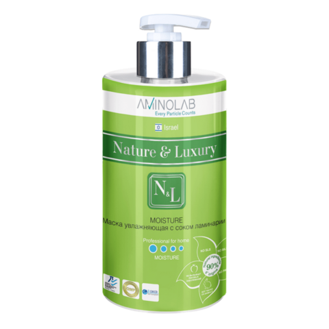 Маска увлажняющая с соком ламинарии,Nature & Luxury,460 мл.