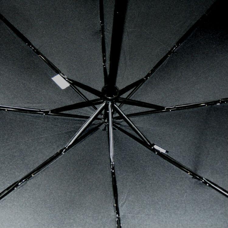 Зонт складной Moschino 8509-1 Pinstripe Topless
