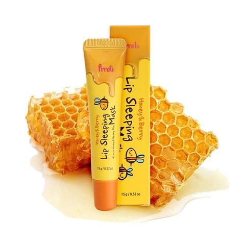Prreti Honey & Berry Lip Sleeping Mask ночная маска для губ с мёдом акации и ягодами