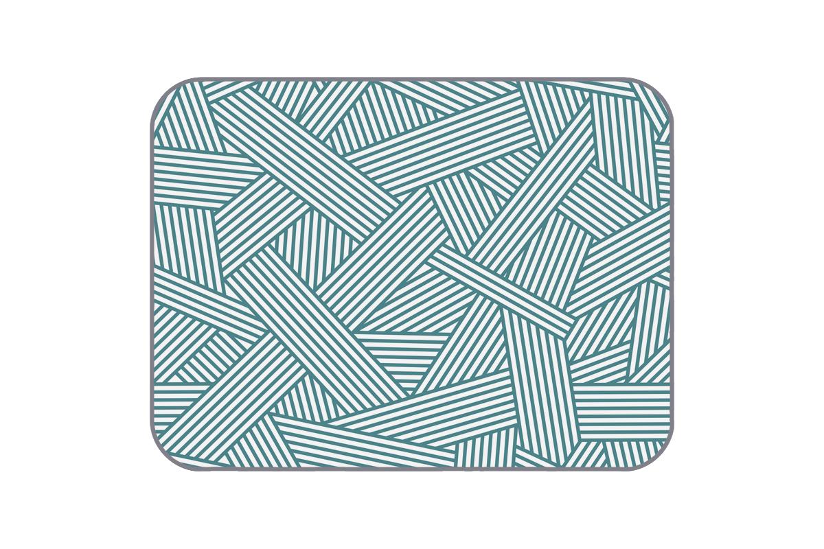 Плюшевый коврик Line 120х160 см