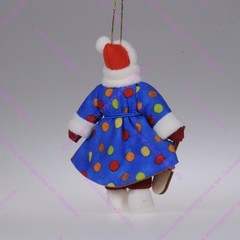 Ёлочная кукла Девочка с лопаткой