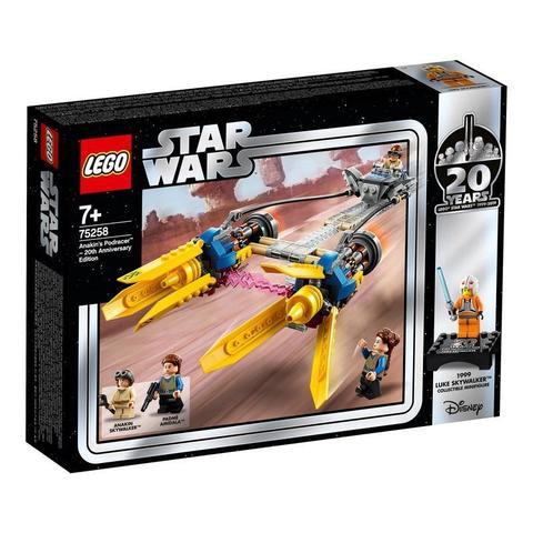 LEGO Star Wars: Гоночный под Энакина: выпуск к 20-летнему юбилею 75258 — Anakin's Podracer – 20th Anniversary Edition — Лего Звездные войны Стар Ворз