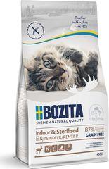 Bozita Indoor & Sterilized сухой корм для стерилизованных и малоподвижных кошек (с оленем) 400г