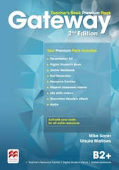 Gateway Second Edition B2+ Teacher's Book Premium Pack