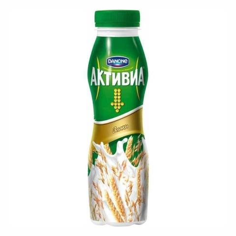 Йогурт питьевой АКТИВИЯ Злаки 270 г Danone РОССИЯ