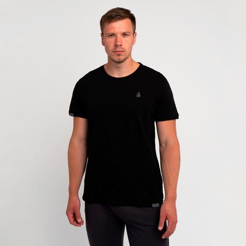 Мужская футболка «Великоросс» чёрного цвета