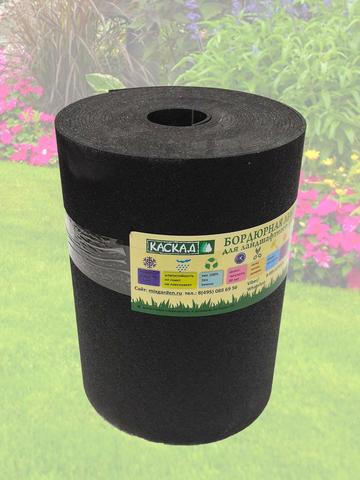 Лента бордюрная  30 см, толщина 3 мм, в рулоне 10 метров, черная