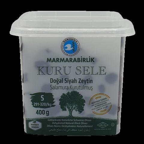 Маслины вяленые с косточкой без рассола (S) MARMARABIRLIK, 400 гр
