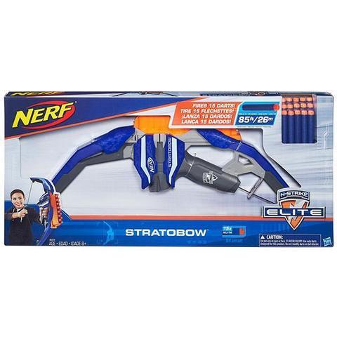 Hasbro: Бластер Nerf «Элит Лук» B5574 — Hasbro Nerf N-Strike Elite Stratobow — Нерф Нёрв
