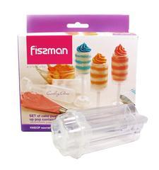 8516 FISSMAN Набор из 3 контейнеров для пуш-кейков 12x4,5 см