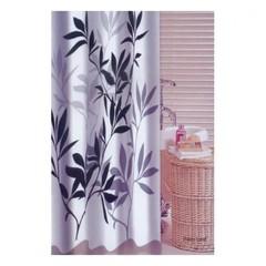 Шторка для ванной тканевая Zalel Palm Leaf 180х180 см, с фотопринтом