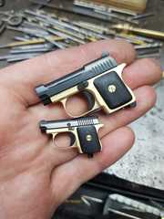 Miniature Beretta micro moving slide