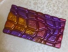Пластиковая форма для шоколада ср. ПЛИТКА КАМЕННАЯ СТЕНА 170х90мм