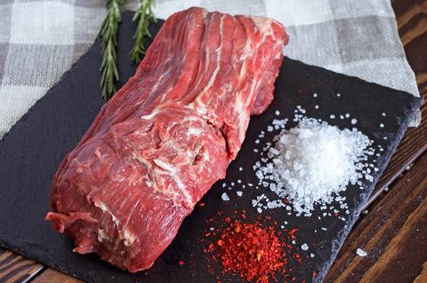 Вырезка из говядины