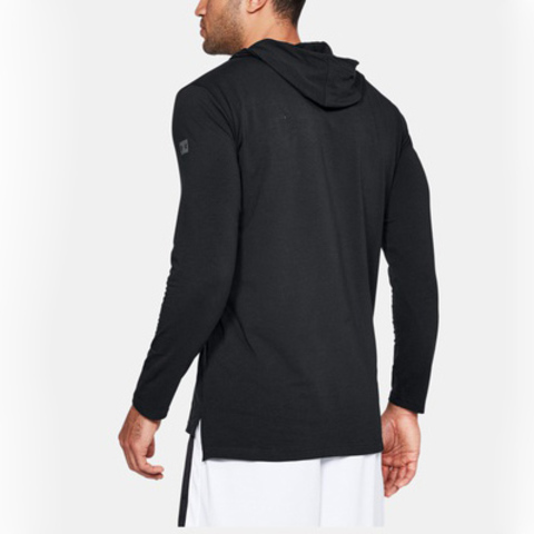 Толстовка Under Armour Baseline Ls Hooded Tee