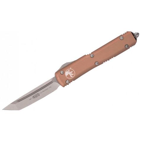 Фронтальный нож Microtech 123-10TA Ultratech T/E Выкидной