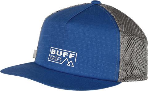 Кепка складывающаяся Buff Pack Trucker Cap Solid Azure фото 1
