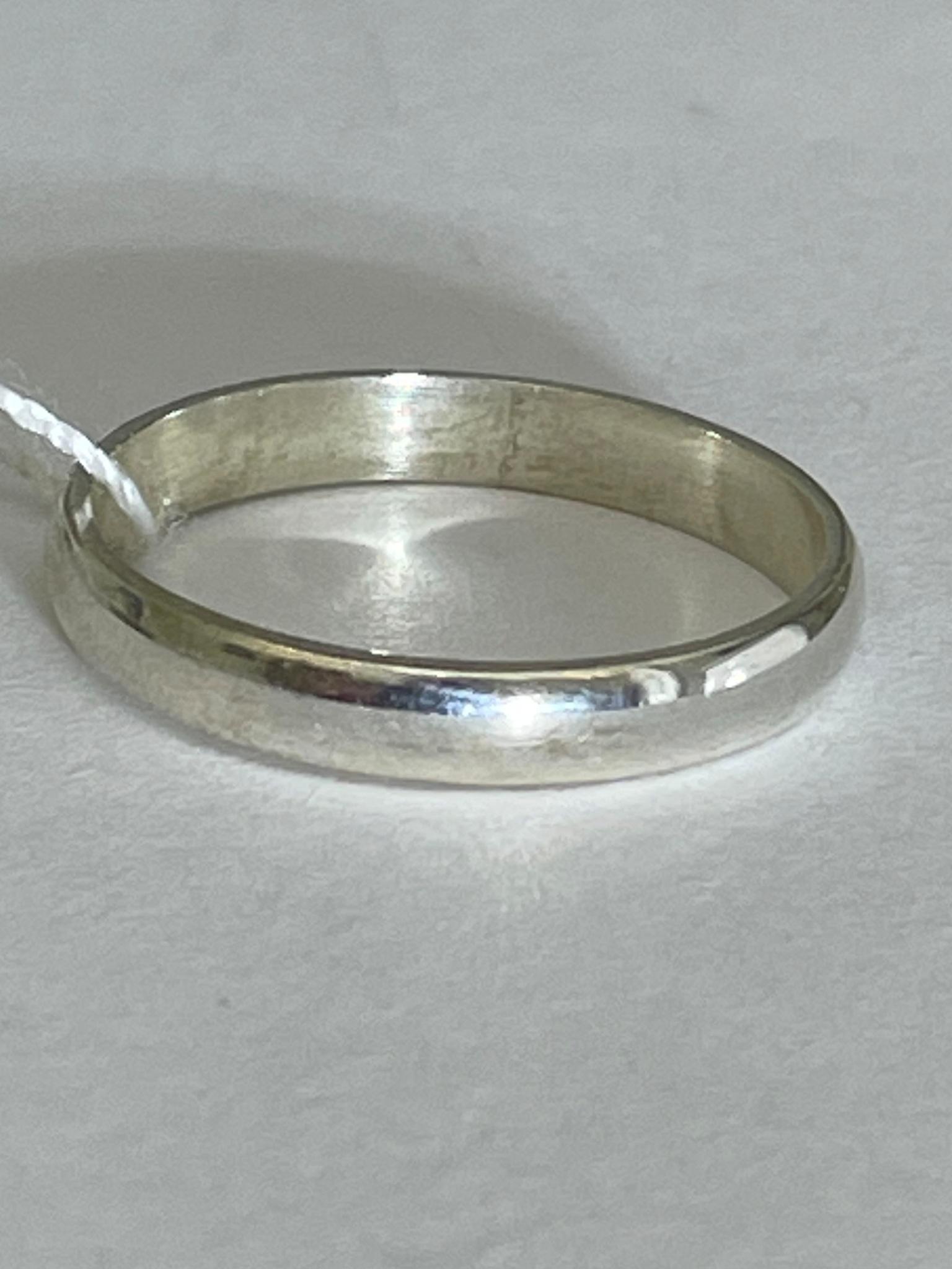 Обручальное 3 (кольцо из серебра)