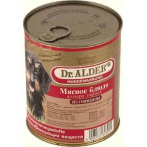 6430 Алдерс Гарант кон.д/собак Говядина 750 гр*12 шт.