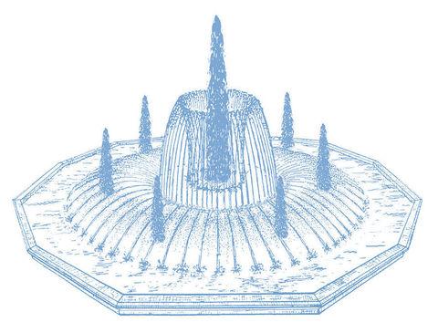 Фонтанный комплект Fountain System C536