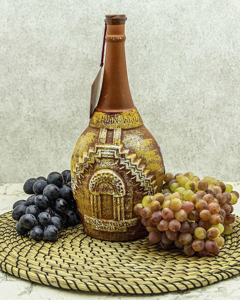 Вино Maran Winery Нораванк Красное сухое в Кувшине 2017 г.у. 14% 1,2 л.