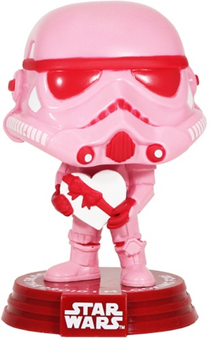 Фигурка Funko POP! Bobble: Star Wars: Valentines: Stormtrooper w/Heart 52873