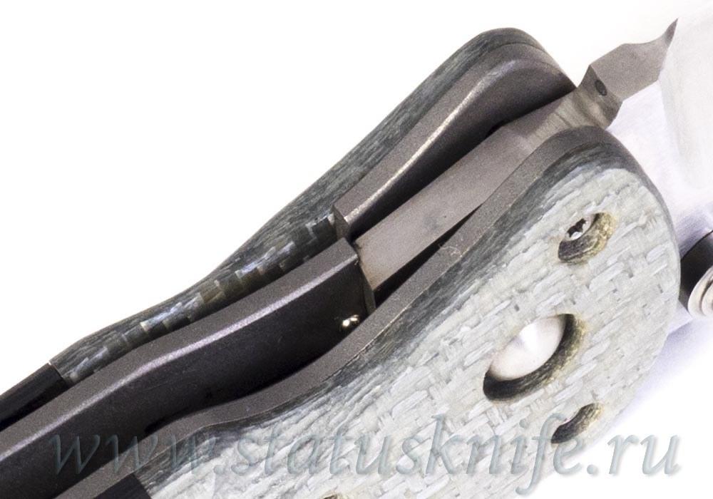 Нож Duncan Brad Whiplash CF Custom - фотография