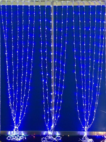 Дождь светодиодный домашний 2*2м 240LED синий