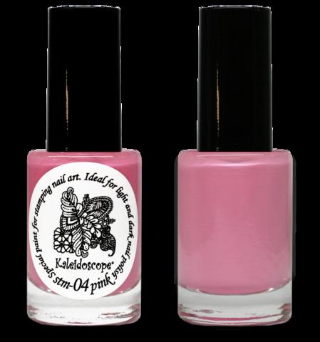 Kaleidoscope Лак для стемпинга №st-04 Pink 15 мл