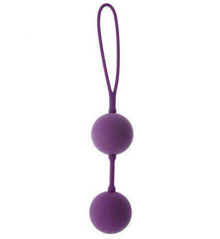 Фиолетовые вагинальные шарики GOOD VIBES THE PERFECT BALLS PURPLE