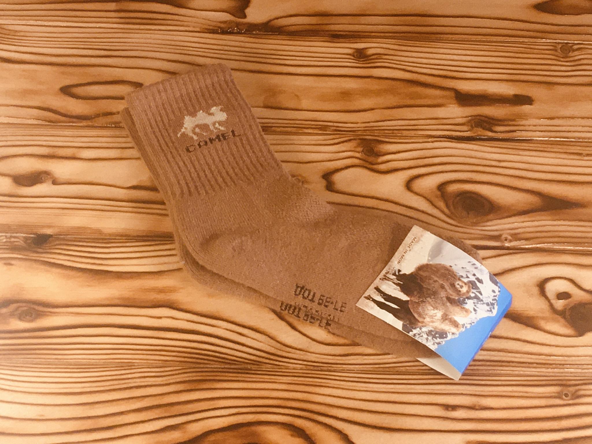 Носки из верблюжьей шерсти camel / р. 37-39 (Коричневые) фото1