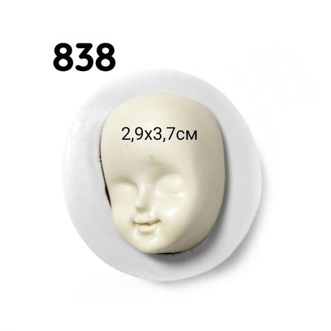 0838 Молд силиконовый. Лицо. Производство Китай