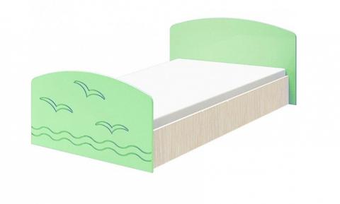 Кровать Юниор-2 салатовый