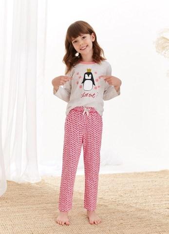 Пижама для девочек со штанами TARO 2252/2253 AW20/21 MAJA