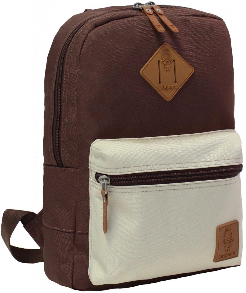 Детские рюкзаки Рюкзак Bagland Молодежный mini 8 л. Коричневый/бежевий (0050866) 07e3b175a6c00f310d4e7e4b17df1304.JPG