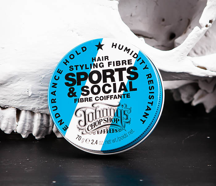 CARE103 Файбер для укладки волос Johnny's Chop Shop Sports & Social JCS (70 гр.)