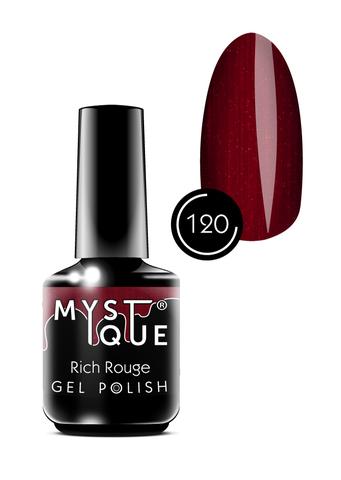 Mystique Гель-лак #120 «Rich Rouge» 15 мл