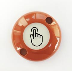 ART-ZN-Exit-Sensor Сенсорная кнопка выхода двухпроводная (коричневая) АртСистемы