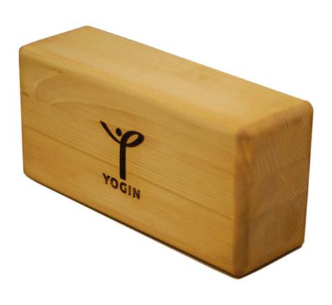 Опорный блок для йоги из сосны 23х12х8