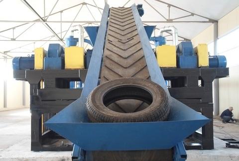 Оборудование для переработки шин