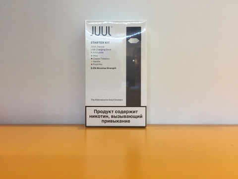Набор JUUL с картриджами 8w 200mAh by JUUL Labs