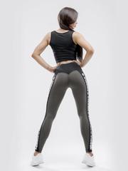 Лосины NEBBIA Power Your Hero iconic leggings 531 SAFARI